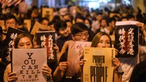 Hong Kong protesters aim to adopt peaceful tone in mass rally
