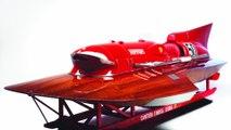Ce bateau Ferrari, le seul au monde, a battu des records de vitesse et est en vente pour 1,5 million de livres sterling