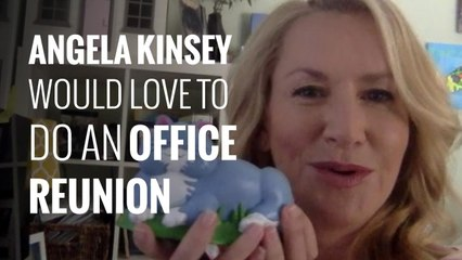 Angela Kinsey on taking your cat to the vet and an Office reunion