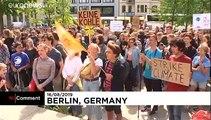 Pour le climat, des étudiants berlinois sèchent les cours