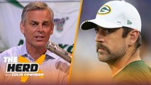 Rodgers' injury concerns may lead to Packers drafting a QB, Colin talks Sam Darnold _ NFL _ THE HERD