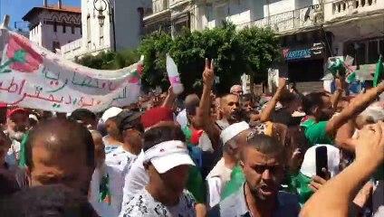 الحراك يقترب من إتمام شهره السادس وتظاهرة في الجزائر للمرة الـ26