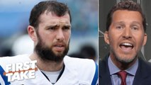 Andrew Luck is overrated and isn't what the Colts expected - Will Cain _ First Take