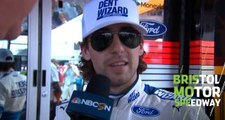 Blaney's arm 'good' after power steering failure