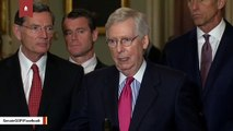 Mitch McConnell Recovering From Shoulder Surgery