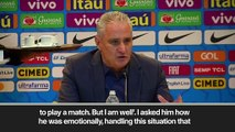 (Subtitled) 'Neymar is waiting on PSG to clarify his future'- Tite