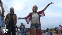 Les célébrations du 50e anniversaire de Woodstock ont débuté