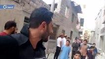 غارات بالصواريخ الفراغية على مدينة أريحا يقابله صمود كبير من أهالي المدينة