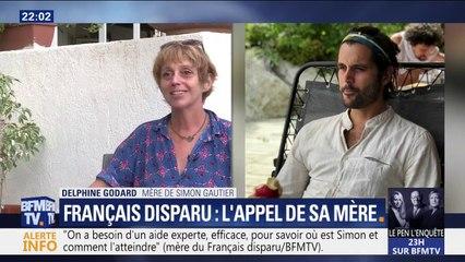 """""""On a évidemment besoin d'aide étant donné le lieu où il est probablement tombé"""", l'appel de la mère de Simon Gautier, ce français disparu en Italie"""