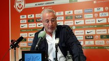Jean-Michel Roussier, président de l'AS Nancy Lorraine condamne les chants homophobes proférés au stade Marcel Picot face au Mans