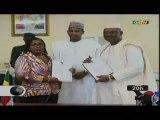 ORTM/Signature d'une convention de credit entre la BAD au Mali et le Directeur général de la BDM-SA