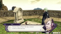 """Fire Emblem Three Houses - Chapter 17: Byleth Visits Cemetary """"Share Your Life With"""" Sothis Nintendo Switch Cutscene (2019)"""