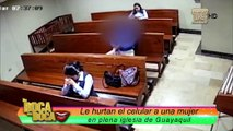 Cristina Reyes indignada por robo en iglesia a la que asistía en Guayaquil
