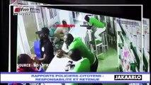 Jakaarlo bi du 16 Aout 2019 : Rapports policiers-citoyens, responsabilité et retenue