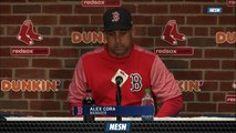 Red Sox Manager Alex Cora On Rick Porcello's Big Performance Vs. Orioles