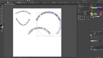 Adding text in the shape of a circle (Adobe Illustrator)_2 -+++===