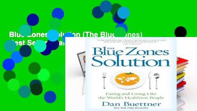 Blue Zones Solution (The Blue Zones)  Best Sellers Rank : #1