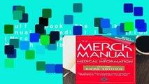Full E-book  The Merck Manual of Medical Information (Merck Manual Home Health Handbook)  Review