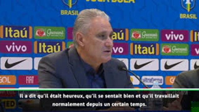 """Brésil - Tite : """"Neymar attend que le PSG clarifie sa situation"""""""