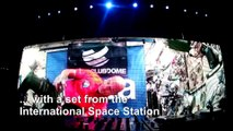 Astronaut Luca Parmitano performs first-ever DJ set from space