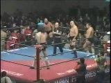 Haruka Eigen/Killer Khan vs Bruiser Brody/Killer Brooks (All Japan March 2nd, 1985)