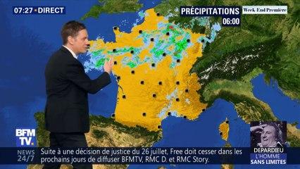 La météo pour ce samedi 17 août 2019