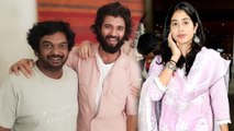 Vijay Devarakonda Will Romance With Bollywood Beauty Jhanvi Kapoor    Filmibeat Telugu
