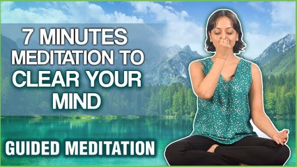 5 Minutes Meditation To Clear Your Mind | Clear Your Negative Thoughts This Guided Meditation