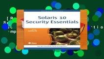 [Read] Solaris 10 Security Essentials (Solaris System Administration) Complete