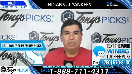 Cleveland Indians vs New York Yankees 8/17/2019 Picks Predictions Previews