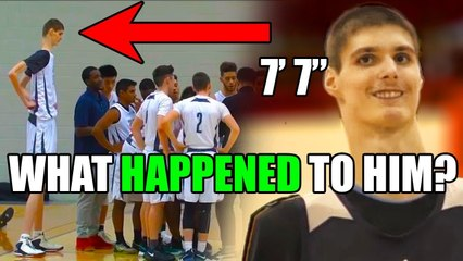 The TALLEST High School Basketball Player That's Still TOO Small For The NBA