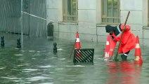 Schwere Regenfälle setzen Teile Istanbuls unter Wasser