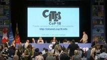 180 ország vesz részt a veszélyeztetett állatfajok kereskedelmét szabályozó konferencián