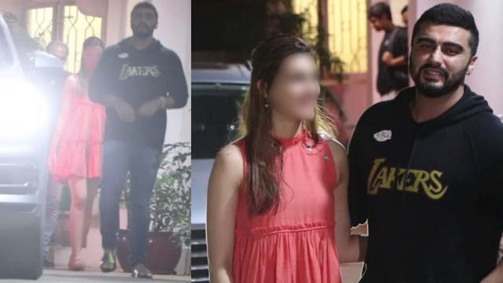 Arjun Kapoor spends time with THIS actress not with Malaika Arora; Watch Video |FilmiBeat