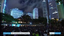 Hong Kong : le mouvement protestataire s'organise