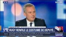 Un mois après sa démission du gouvernement, François de Rugy est à nouveau député