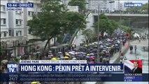 Hong Kong : plusieurs milliers de personnes manifestent dans les rues, dans le calme