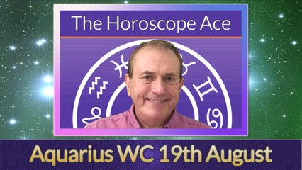 Aquarius from 19th August 2019 - passions are aroused