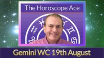 Gemini from 19th August 2019 - home changes beckon