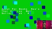 About For Books  Keo's Thai Cuisine  Best Sellers Rank : #5