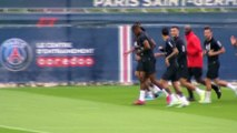 Neymar de retour à l'entraînement - Foot - L1 - PSG