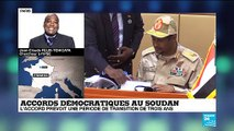 Transfert du pouvoir au Soudan : un moment 'historique'