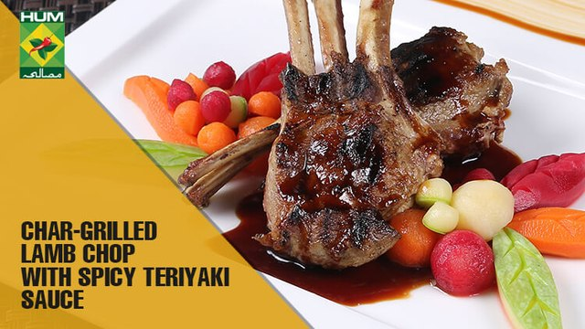 Char Grilled Lamb  Chop With Spicy Teriyaki Sauce | Lively Weekends | MasalaTV Show