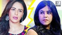 All Is Not Well Between Ekta Kapoor And Mona Singh?