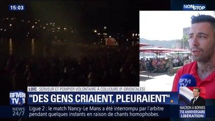 """""""Des gens criaient, pleuraient"""": ce pompier volontaire est intervenu lors de l'accident de feu d'artifice à Collioure"""