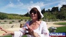 Lagnes : Danièle Evenou vous invite chez elle