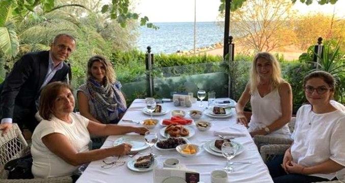 Selvi Kılıçdaroğlu, Dilek İmamoğlu ve Başak Demirtaş İstanbul'da buluştu