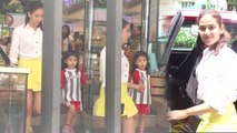 Mira Rajput spotted with her little munchkin Misha for grocery shopping;Watch video | FilmiBeat