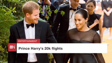 Prince Harry's Trips Are Expensive