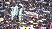 """홍콩 주말에도 시위 이어져...""""자유 위해 싸우자"""" / YTN"""